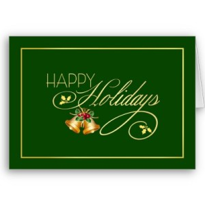 Write a thank you note in your holiday card